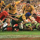Over the Line by Simon Hodgson