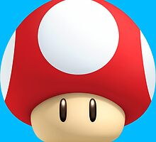 Super Mario Mushroom by SeedyRom