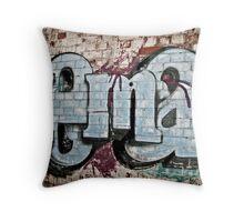 Powerhouse Grafitti Throw Pillow
