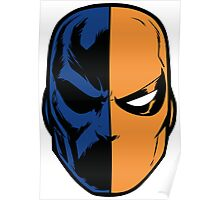deathstroke - mask (less detail) Poster