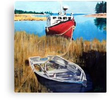 Wetland Taxi Canvas Print