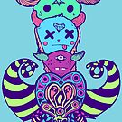Monster Heads by Octavio Velazquez