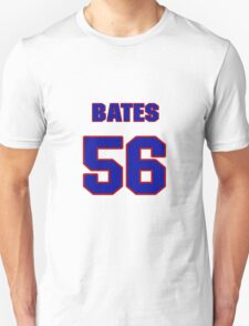 National football player Ted Bates jersey 56 T-Shirt
