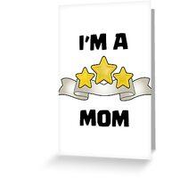 Clash of Clans - I'm a Three Star Mom Greeting Card