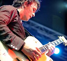 Chris Cheney with Gretsch Guitar by Stuart Blythe