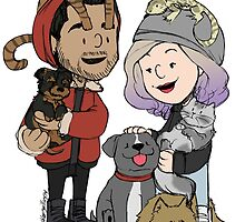 Zayn, Perrie, and Pets by ashleyrguillory
