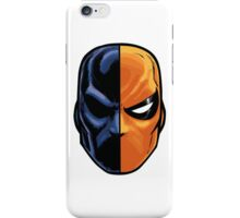 deathstroke - mask (more detail) iPhone Case/Skin
