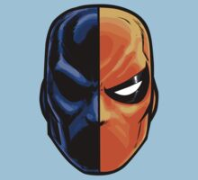 deathstroke - mask (more detail) Kids Clothes
