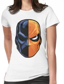 deathstroke - mask (more detail) Womens Fitted T-Shirt