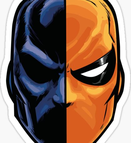 deathstroke - mask (more detail) Sticker