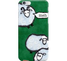 Japanese Sheep Say Meh iPhone Case/Skin