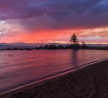 Zephyr Cove Sunset by Richard Thelen