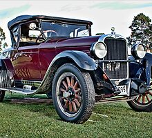 Dodge tourer in burgundy by Ferenghi