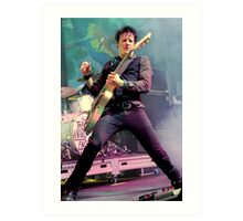 Chris Cheney - In Black Art Print