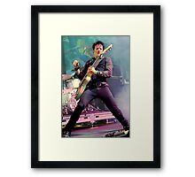 Chris Cheney - In Black Framed Print