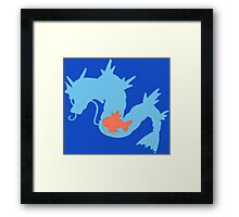 The Sea Dragon Framed Print