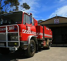 Lovely Banks Rural Fire Brigade, Country Fire Authority by Allen Gray
