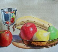 Goblet & Fruit by Keltan