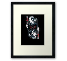 12th of Hearts Framed Print