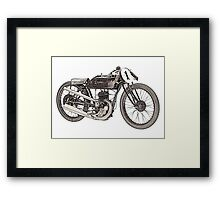 1926 Garelli motorcycle  Framed Print