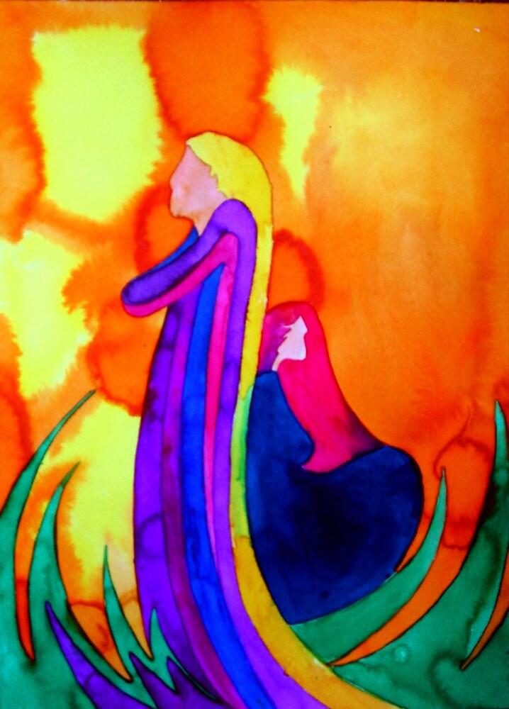 Lady 2 by Jamie Winter-Schira