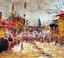Arabesque by Colin Cartwright
