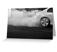 Burn Out Greeting Card