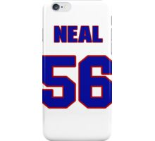National football player Kerry Neal jersey 56 iPhone Case/Skin