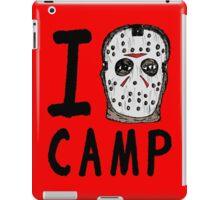 I Jason Camp iPad Case/Skin