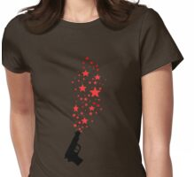 Shooting Stars Womens Fitted T-Shirt