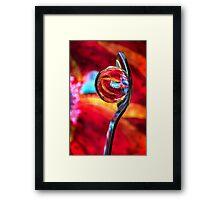Ganesh Spoon Framed Print