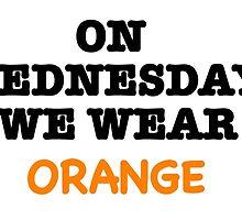 we wear orange by jvandoninck