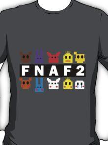 Five Nights At Freddy's 2 Pixel Shirt T-Shirt