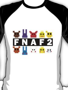 Five Nights At Freddy's 2 Pixel Shirt T-Shirt