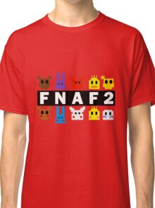 Five Nights At Freddy's 2 Pixel Shirt Classic T-Shirt