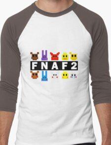 Five Nights At Freddy's 2 Pixel Shirt Men's Baseball ¾ T-Shirt
