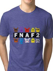 Five Nights At Freddy's 2 Pixel Shirt Tri-blend T-Shirt
