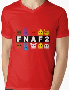 Five Nights At Freddy's 2 Pixel Shirt Mens V-Neck T-Shirt