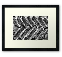 Tram, main drive gear Framed Print