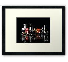 GlassBar105 Framed Print