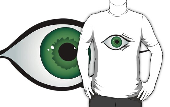 green eye by VioDeSign