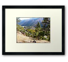 Winding River Framed Print