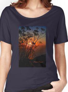 Sunset flower Women's Relaxed Fit T-Shirt