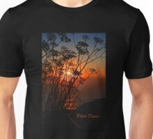 Sunset flower Unisex T-Shirt