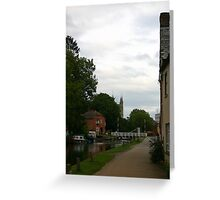Towards Newbury Greeting Card