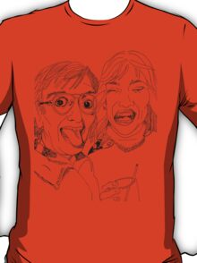 Yearbook Faces T-Shirt