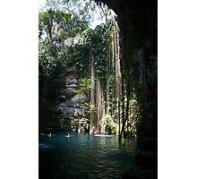 Il Kil Cenote, Chichen Itza, Mexico Photographic Print