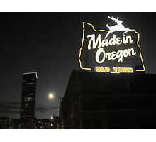 Made In Oregon Photographic Print