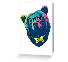 Pop Art I (Papa Bear) Greeting Card