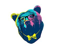Pop Art I (Papa Bear) Photographic Print